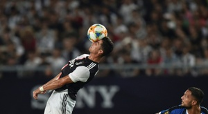 Cristiano Ronaldo levelled for Juventus with a deflected second-half free-kick. AFP