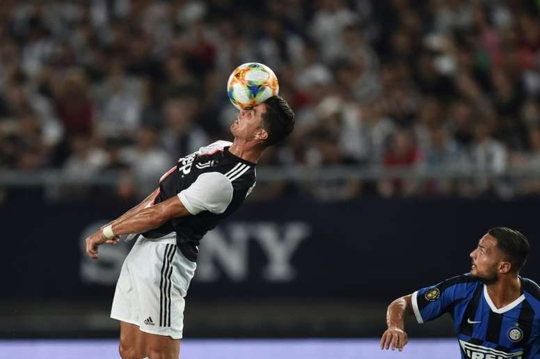 Cristiano estará ante el Milan; De Ligt, baja. AFP