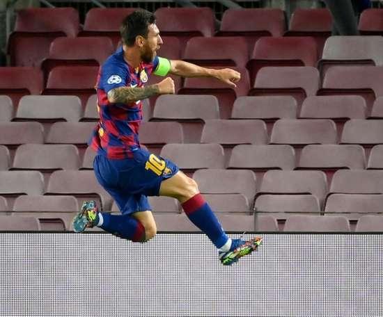 Bayern ponder how to stop Messi. AFP