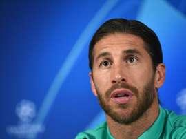 Sergio Ramos fala o que fez com seu primeiro salário como jogador. AFP