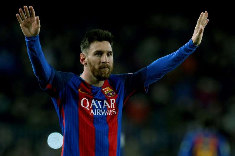 Leo Messi is the best (player) in the history of football, says Barcelonas president. Goal