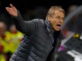 Jurgen Klinsmann will not return to Hertha board after his shock resignation as coach. AFP