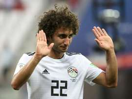 Warda is set to return for Egypt in the knockout rounds. AFP