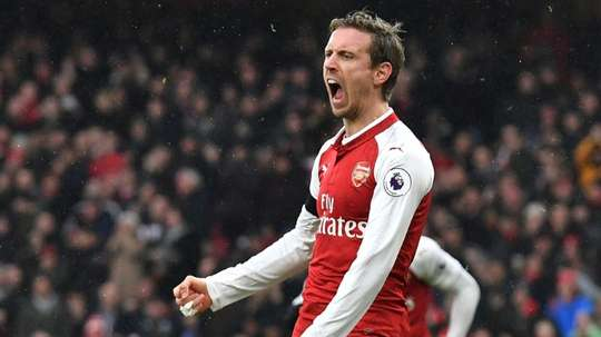 Unai Emery is keen to secure Nacho Monreal on an improved contract. AFP