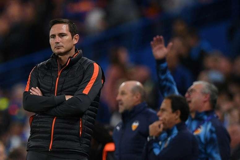 Lampard, abatido. AFP