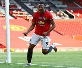 Man United won 3-0. AFP