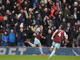 Gudmundsson's 82nd minute equaliser earned a point for Burnley. AFP