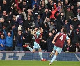 El Burnley ha vuelto a la vida. AFP/Archivo