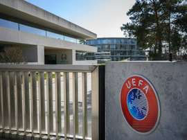 UEFA considers reducing host cities for the Euros because of COVID-19. AFP