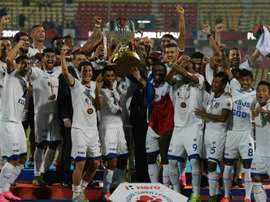 El Chennaiyin ganó la Superliga India de 2015. AFP/Archivo