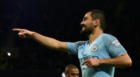Gundogan wants to be guaranteed he will start at Man City. AFP