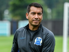 Van Bronckhorst has left. AFP