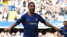 Chelsea were fearful of losing Eden Hazard if Antonio Conte hadn't been sacked. AFP