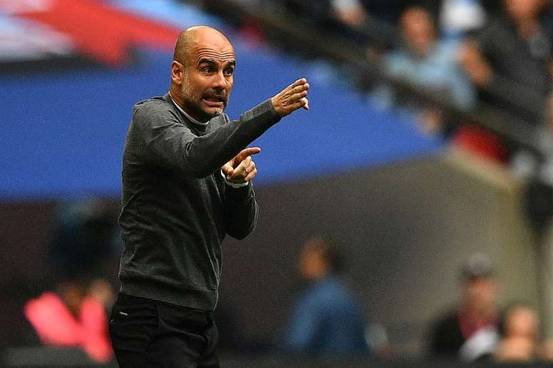 Guardiola has rejected a massive offer from Juventus. AFP