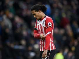 Van Dijk is on Manchester City's radar ahead of the January transfer window. AFP