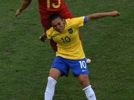 Five-time World Player of the Year Marta was in sensational form as Brazils women won 3-0 over China