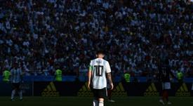 Argentina y un grupo 'amable'. AFP