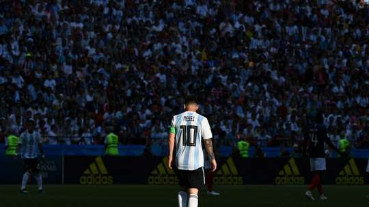 Messi faces too much pressure for Argentina. AFP