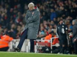 El Arsenal sólo suma seis puntos de los últimos 15. AFP