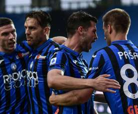Atalanta beat Napoli 2-0. AFP