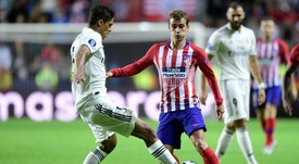 Atletico Madrid beat Real 4-2 in the Super Cup on Wednesday. AFP