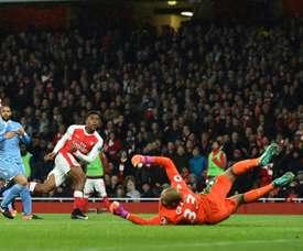 Lee Grant podría ser el nuevo portero del Manchester United. AFP