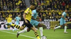 Le Bayern Munich a supervisé Achraf Hakimi face à Augsbourg. AFP