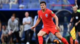 Maguire has become a fan favourite at the World Cup. AFP