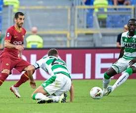 Mkhitaryan pourrait rester à l'AS Rome. AFP