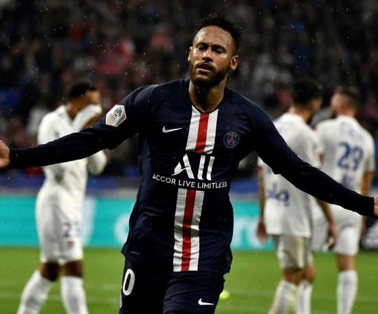 Neymar has rejected a new contract. AFP
