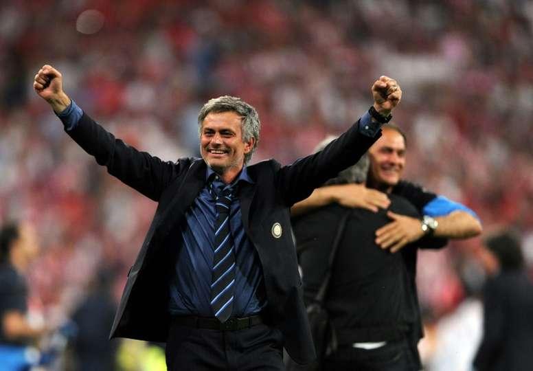 La explicación a aquel gran título de Mourinho. AFP