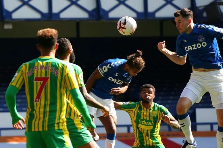 Everton beat West Brom 5-2. AFP