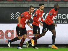 Rennes have returned to the top of the league. AFP