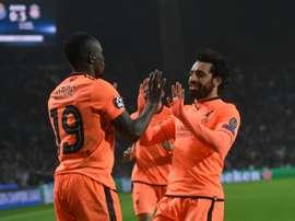 Liverpool subiu ao segundo lugar da Premier League. EFE