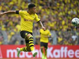 Jadon Sancho has interest from several European clubs. AFP