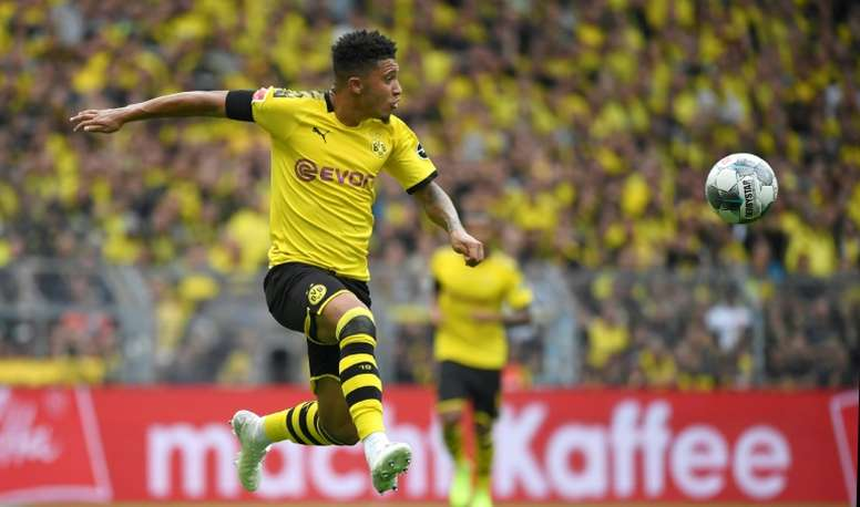 'Daily Mail': 116 millones del Real Madrid por Sancho. AFP
