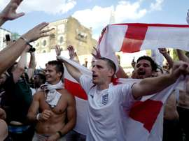 England's fans have been urged to repeat their World Cup behaviour. AFP