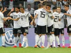 Germany were comfortable victors over Estonia in the Euro 2020 qualifier. AFP