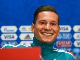 Draxler pictured in Russia. AFP
