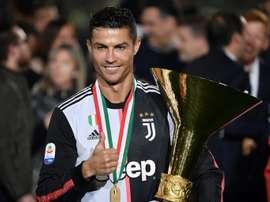 Ronaldo non è capocannoniere da quattro anni. AFP