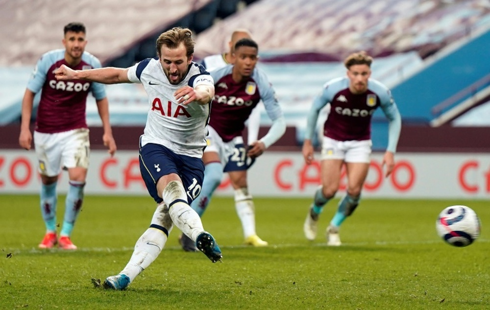 El Tottenham ya busca sustituto a Kane. AFP