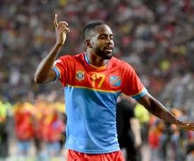 Bakambu a failli signer au FC Barcelone. AFP