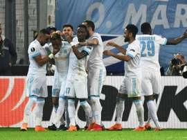 Marseille já espreita a final. AFP