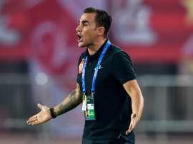 Cannavaro faces a tough battle to win the league. AFP