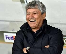 Mircea Lucescu has controversially become the Dynamo Kiev coach. AFP