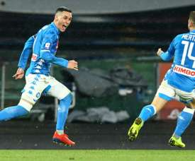 Callejon will stay at Napoli. AFP