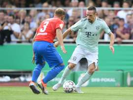 Bayern toiled for over an hour. AFP
