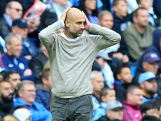 Guardiola concerned by Man City's December schedule. AFP