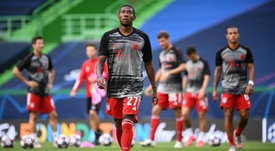 Alaba could go to Madrid. AFP