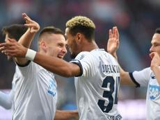 Hoffenheim drew level late. AFP